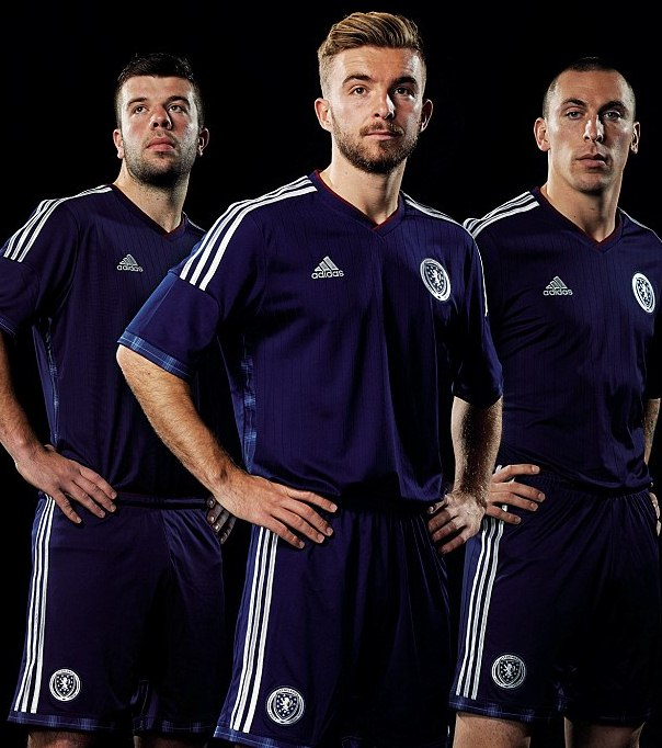 New Scotland Football Strip 2014