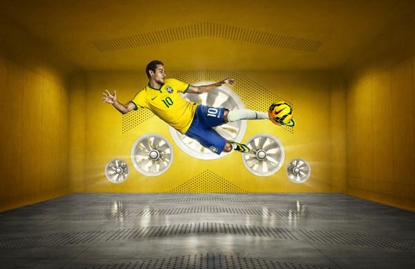 Neymar Brazil World Cup Shirt 2014
