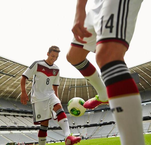 Ozil Germany 2014 Shirt