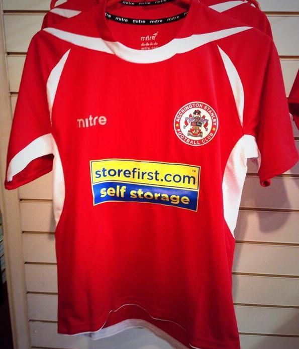 Accrington Stanley Mitre Kit 2013 14