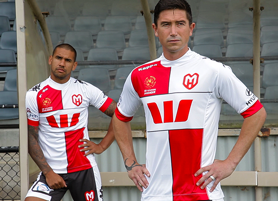 New Melbourne Heart Third Kit 2013 14