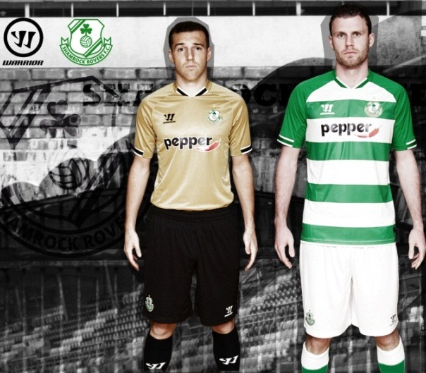 Warrior Sports Shamrock Rovers Kit 2014
