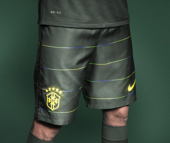 Brazil Third Kit Shorts