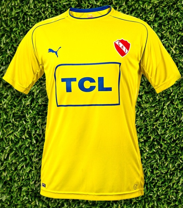 Independiente Camiseta Amarilla 2014