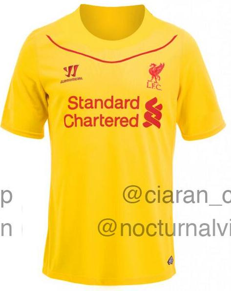 Leaked Liverpool Kit 2014 15