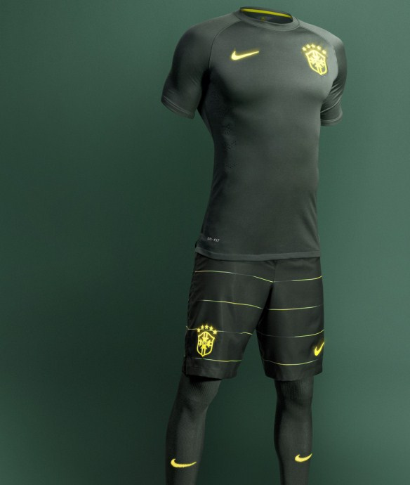 New Brazil Third Kit 2014