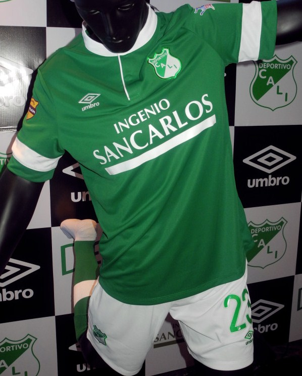 New Deportivo Cali Home Shirt 2014