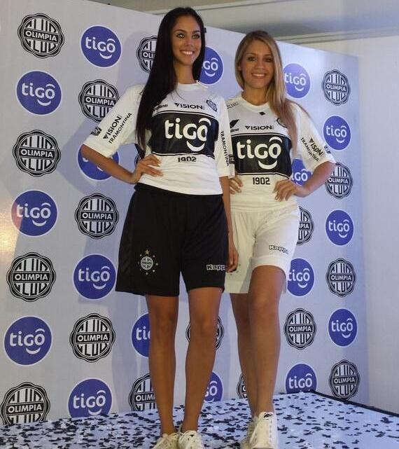 Olimpia Paraguay Jersey 2014