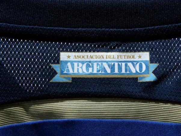 Argentina Change Shirt 2014 Closeup