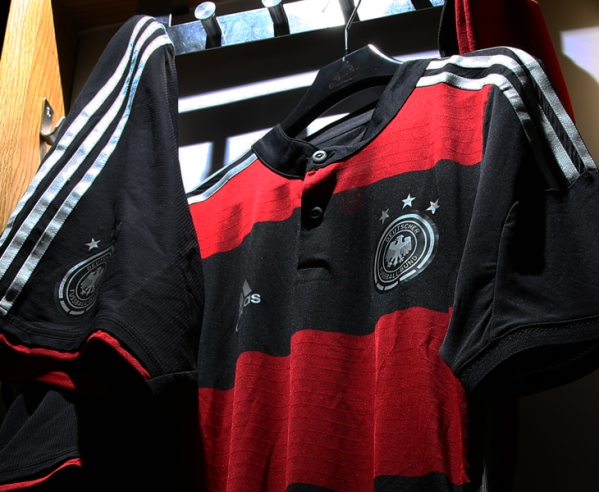 Black Red Germany Away Kit World Cup 2014