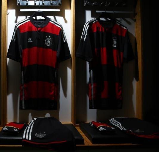 German Jersey Away WC 2014