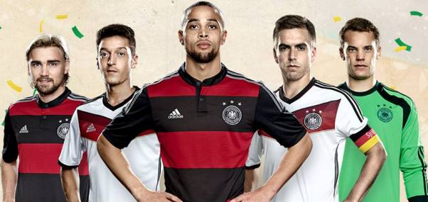 Germany Alternate Jersey World Cup 2014