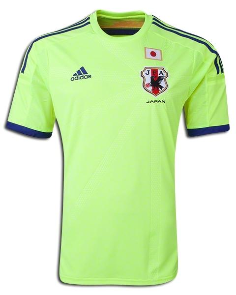 Japan Away Kit 2014 World Cup