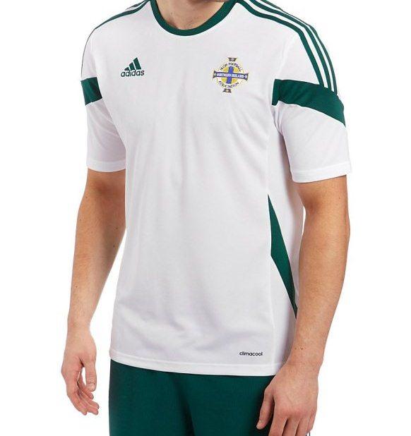 NI Away Football Kit 2014 Adidas