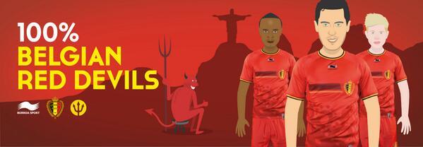 New Belgium World Cup 2014 Jersey