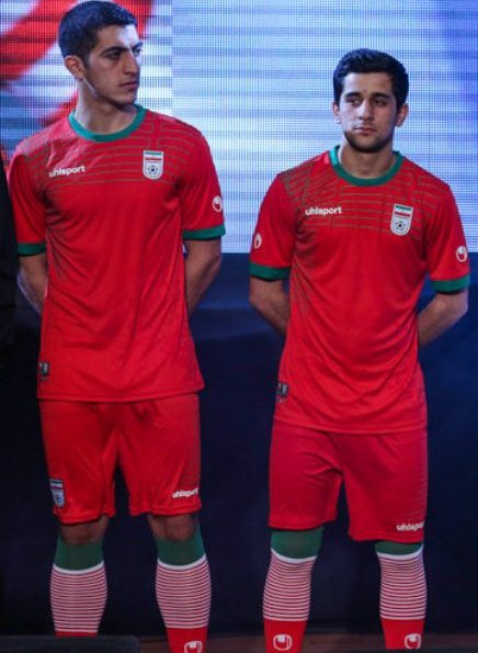 New Iran World Cup 2014 Kit