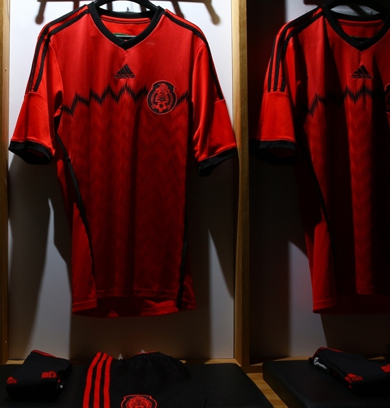 72a04206f6e New Mexico Away Kit World Cup 2014- Red Mexico 2014 Jersey Adidas ...
