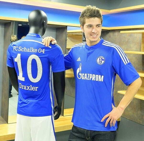 New Schalke Top 14 15