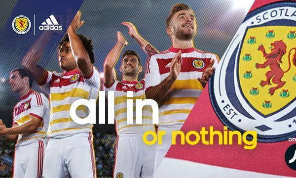 New Scotland Away Football Kit 2014