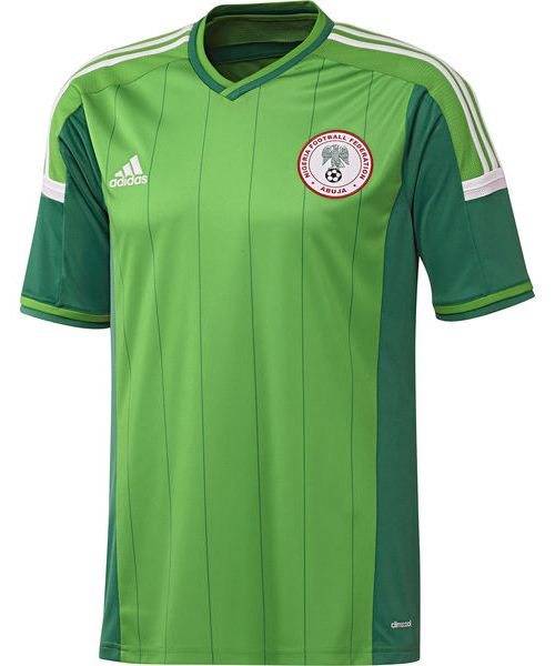 finest selection 85c4f 6924c New Nigeria World Cup 2014 Kit- Adidas Super Eagles WC Home ...