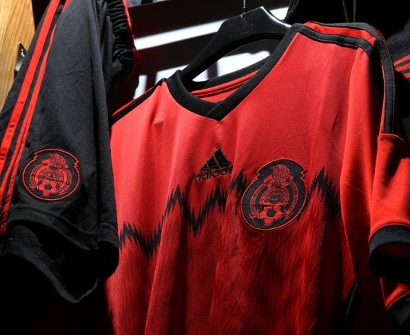 New Mexico Away Kit World Cup 2014 Red Mexico 2014 Jersey