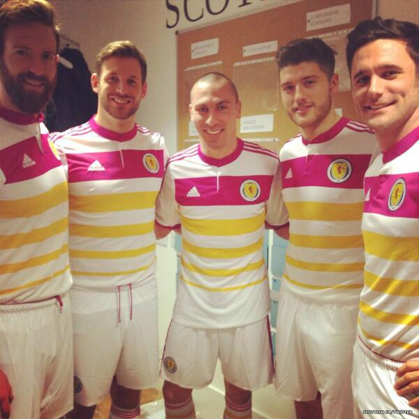 Scotland Change Strip 14 15