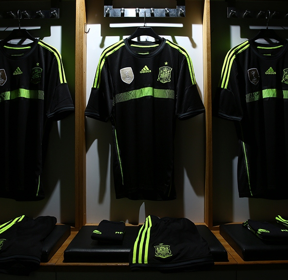 Spain Away Kit World Cup 2014