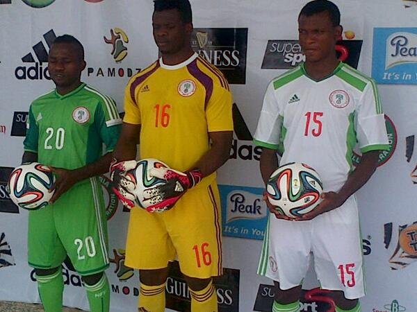 Super Eagles Jersey 2014