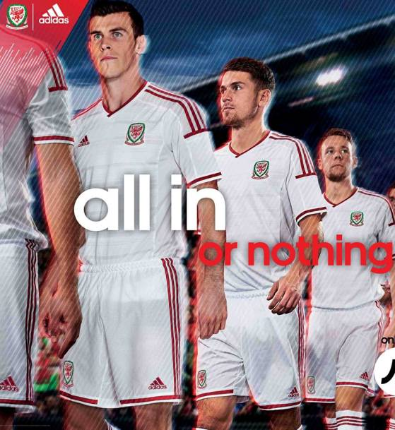 Wales Away Football Kit 2014