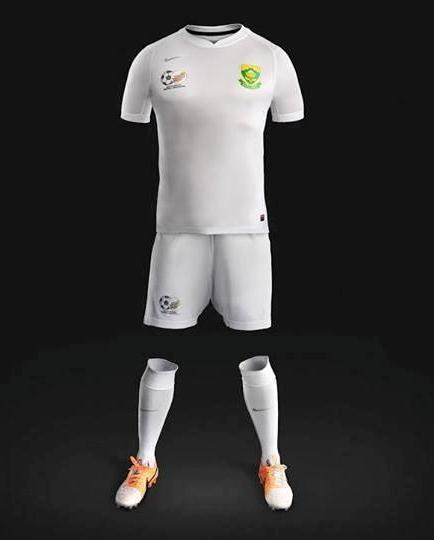 White Bafana Jersey 2014