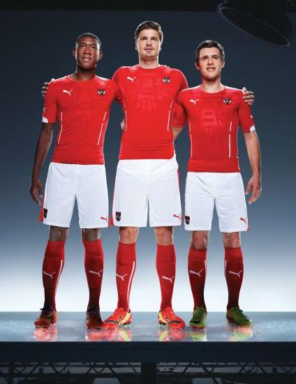 Austria Soccer Jersey 2014