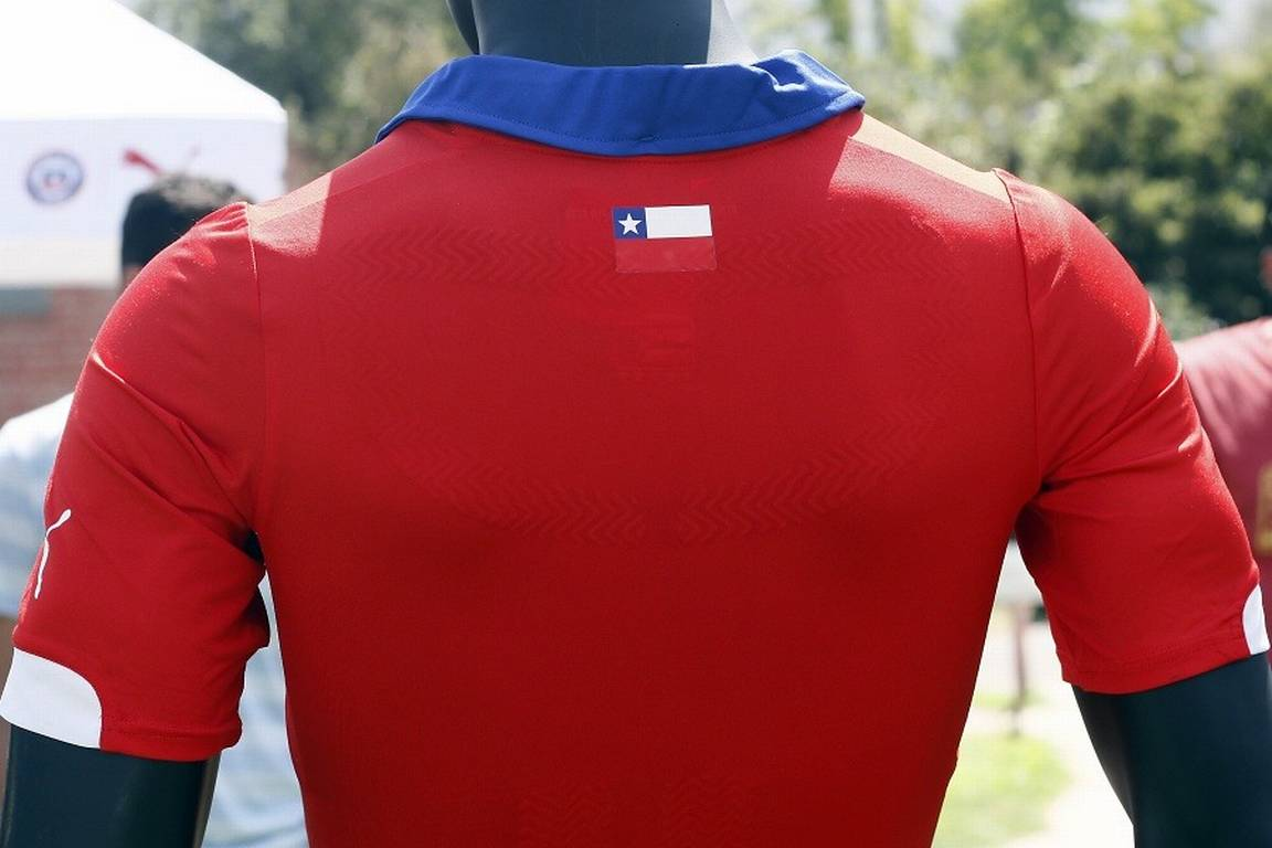 Chilean Football Shirt Back