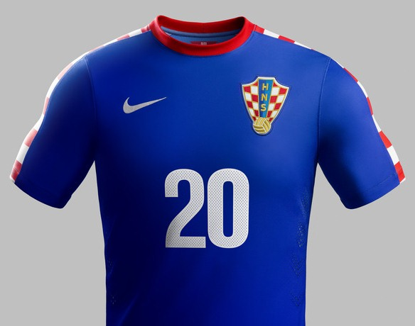 Croatia Blue Shirt 2014