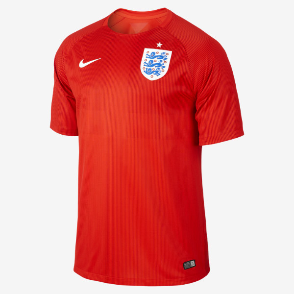 England Away World Cup Football Shirt 14 15
