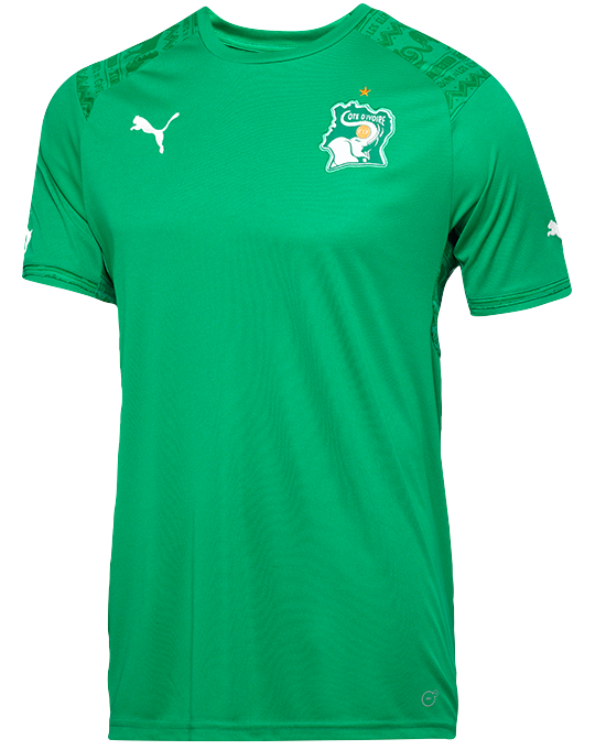 Ivory Coast Away Shirt 2014 15