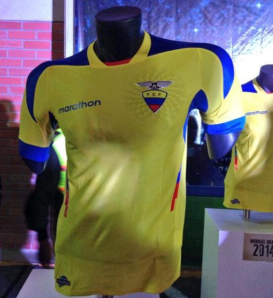 Marathon Sports Ecuador Shirt 2014
