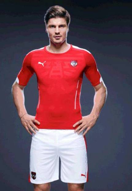 New Austria Home Kit 2014 15