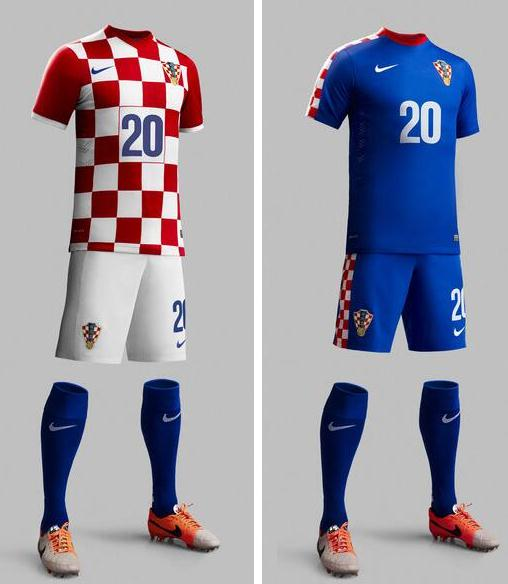 New Croatia World Cup Kit 2014