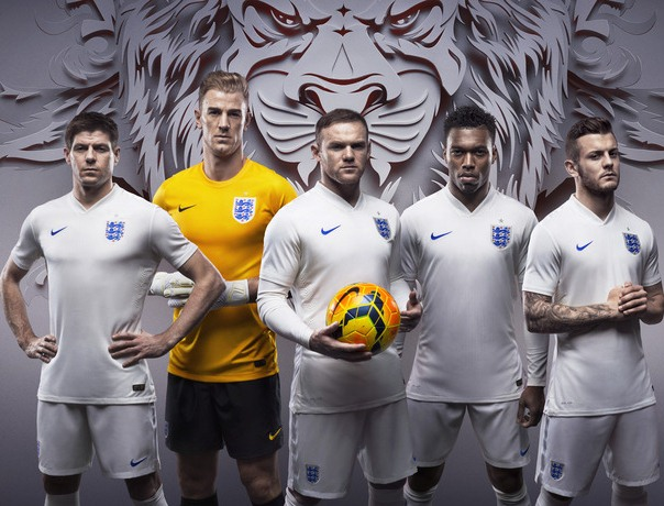 New England World Cup Kit 2014