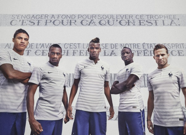 New France Away World Cup Kit 2014