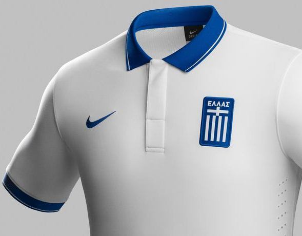 New Greece Home Shirt 2014