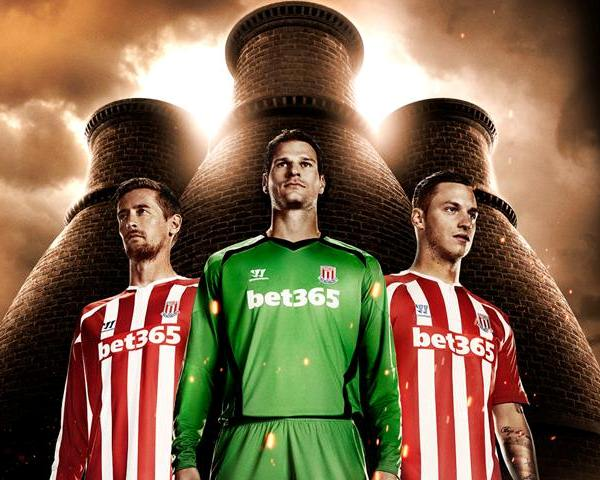 New Stoke Home Shirt 2014 2015