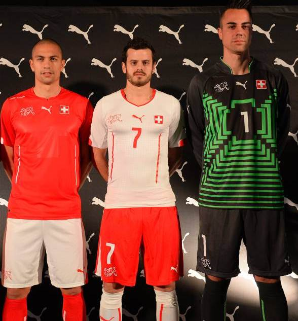 New Swiss World Cup Jerseys 2014