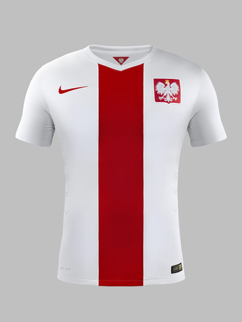 Poland Home Shirt 2014 15