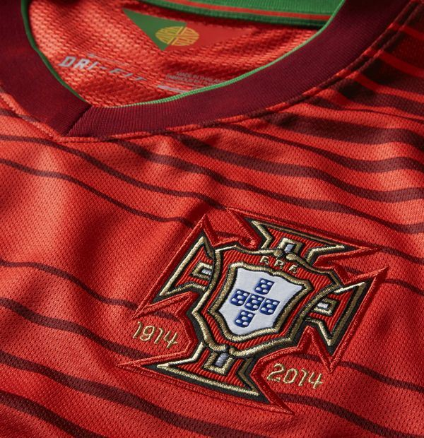 Portugal Home Shirt 2014 15