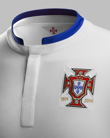 Portugal World Cup Shirt Crest 2014