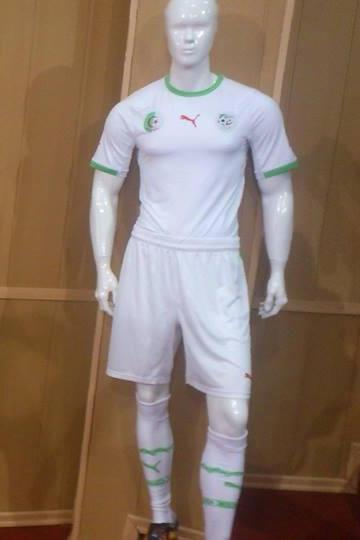 3ea0cd714c8 New Algeria World Cup Shirts 2014- Algerie Puma Home Away Kits 14-15 ...