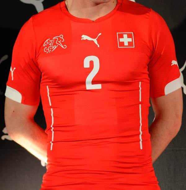 Switzerland World Cup 2014 Home Shirt