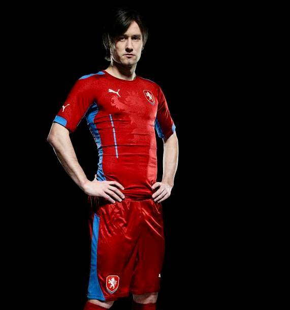 Tomas Rosicky Czech Republic Shirt 2014