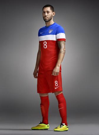 Clint Dempsey USA Away Soccer Jersey 2014